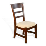 Tuscany Side Chair with Cushion Seat