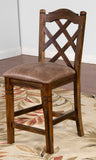 Savannah Double Crossback Stool
