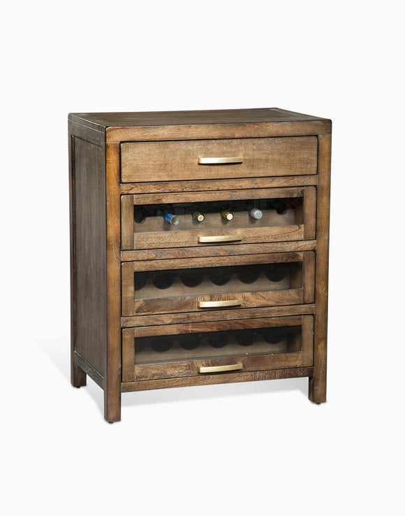 Mink Server & Single Wine Racks