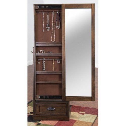 TOP AND BASE MIRROR CABINET