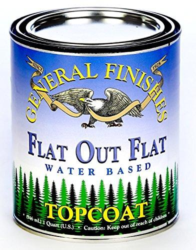 FLAT OUT FLAT TOPCOAT PINT