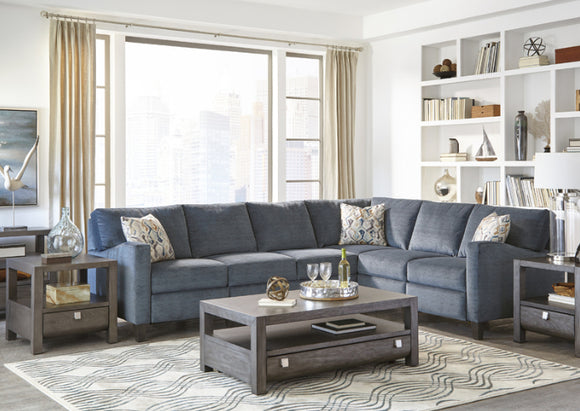 Colleen Power Sectional by Klaussner