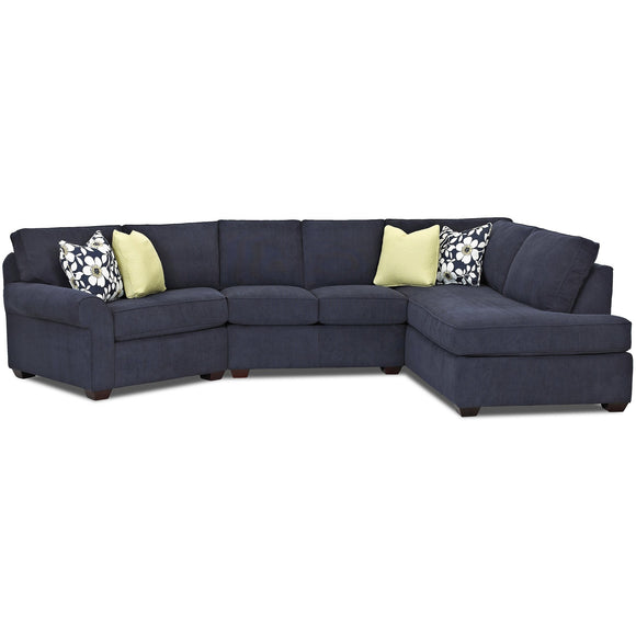 Troupe Sectional by Klaussner