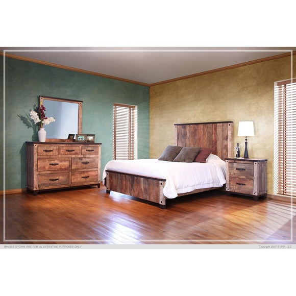 Maya Multicolor Bedroom Collection