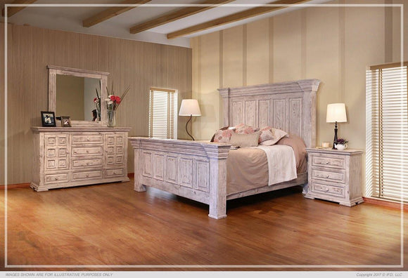 Terra White Bedroom Collection