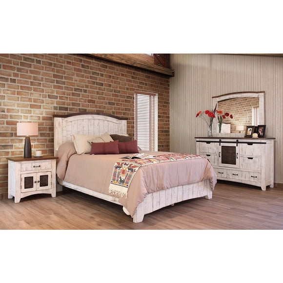 Pueblo White Bedroom Collection