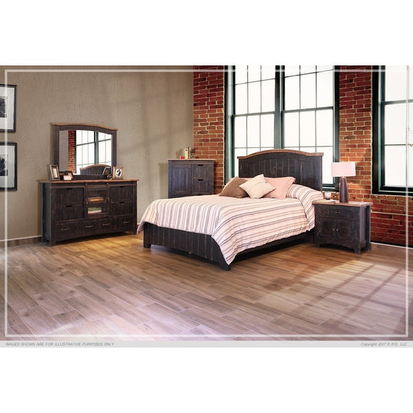 Pueblo Black Bedroom Collection