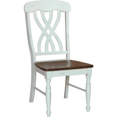 Bridgeport collection latticeback chair.