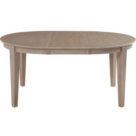 Cosmopolitan Collection Oval Butterfly Extension Table