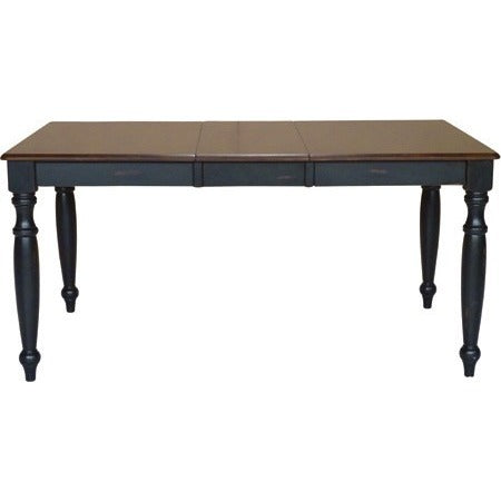 Bridgeport Collection Extension Table with Turned Legs.