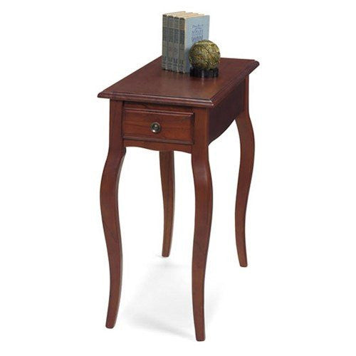 1900-43CHR Rectangular Queen Anne Chairside Table