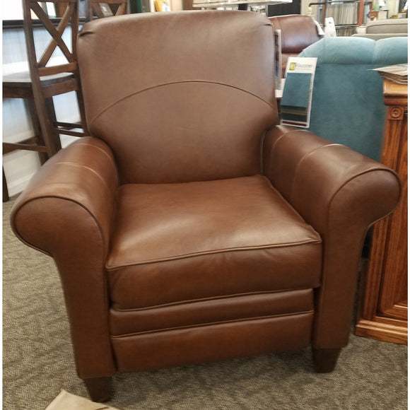 Troupe Leather Reclining Chair by Klaussner