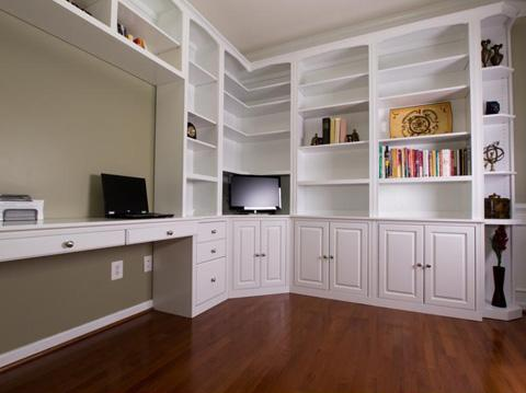 Custom Bookcases and Wall Units