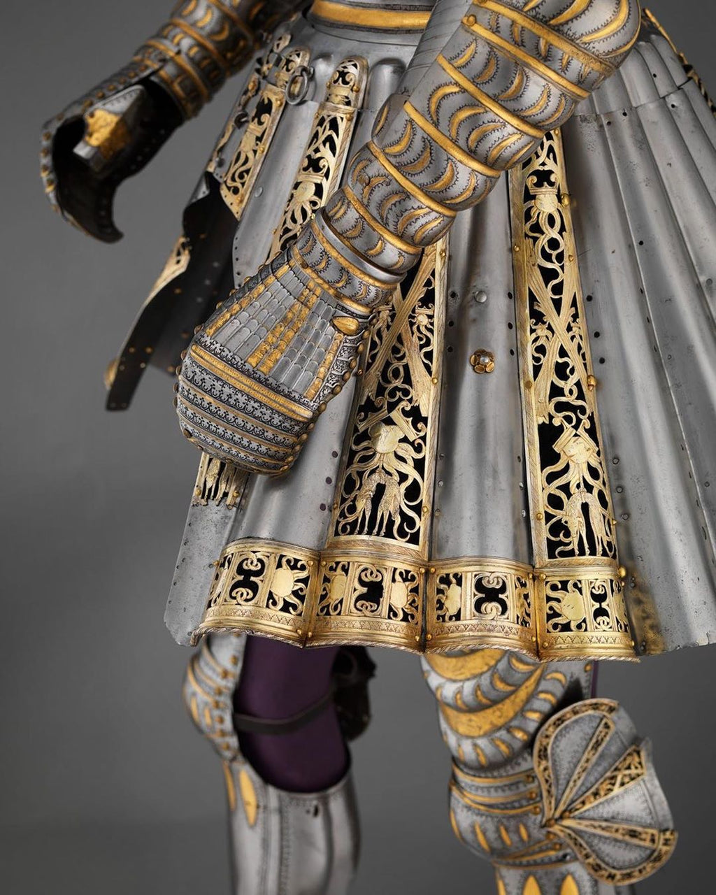 Armor of Maximilian I at the Met Museum