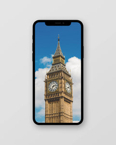 Free Big Ben Inspired iPhone Wallpaper