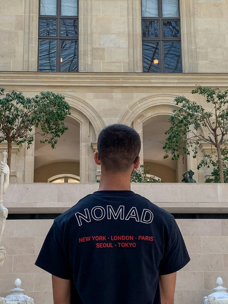 Nomad Summer 2019 Photoshoot at the Louvre museum in Paris, France