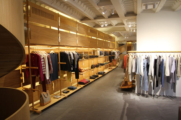 A.P.C Store Paris. Travel and Fashion blog by Nomad New York.