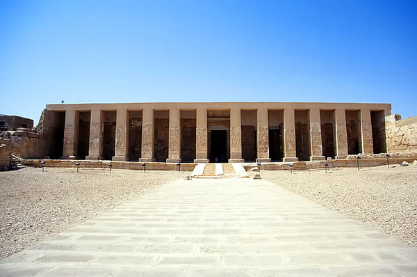 Abydos, Egypt. 11 Cities Frozen In Time You Need To Visit. Travel and Streetwear blog by Nomad New York.