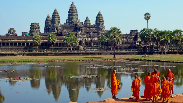 Angkor Wat, Cambodia.  Nomad New York. Image from Wikipedia.org