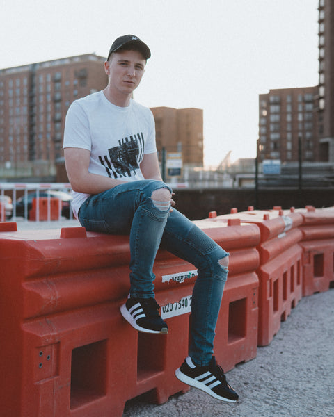Nomad Bicycle Tee. Travel inspired streetwear. Photo shot by @heyelenor.