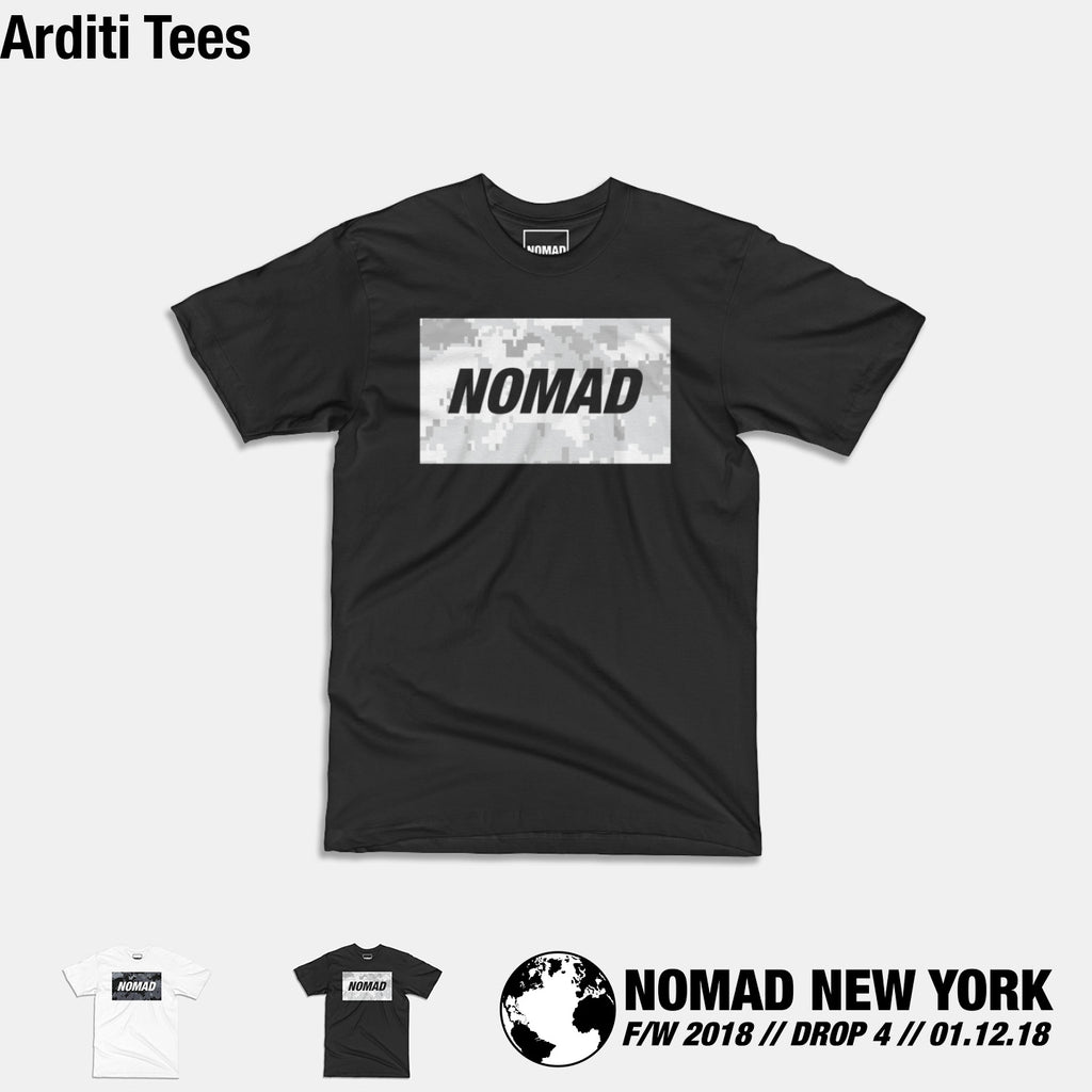 The Arditi Tee from Part 4 of Nomad Fall / Winter 2018
