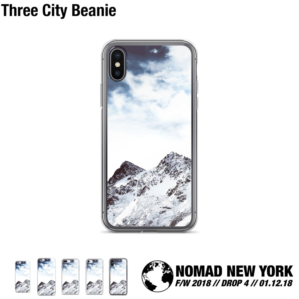 The Twin Peaks iPhone case from Part 4 of Nomad Fall / Winter 2018