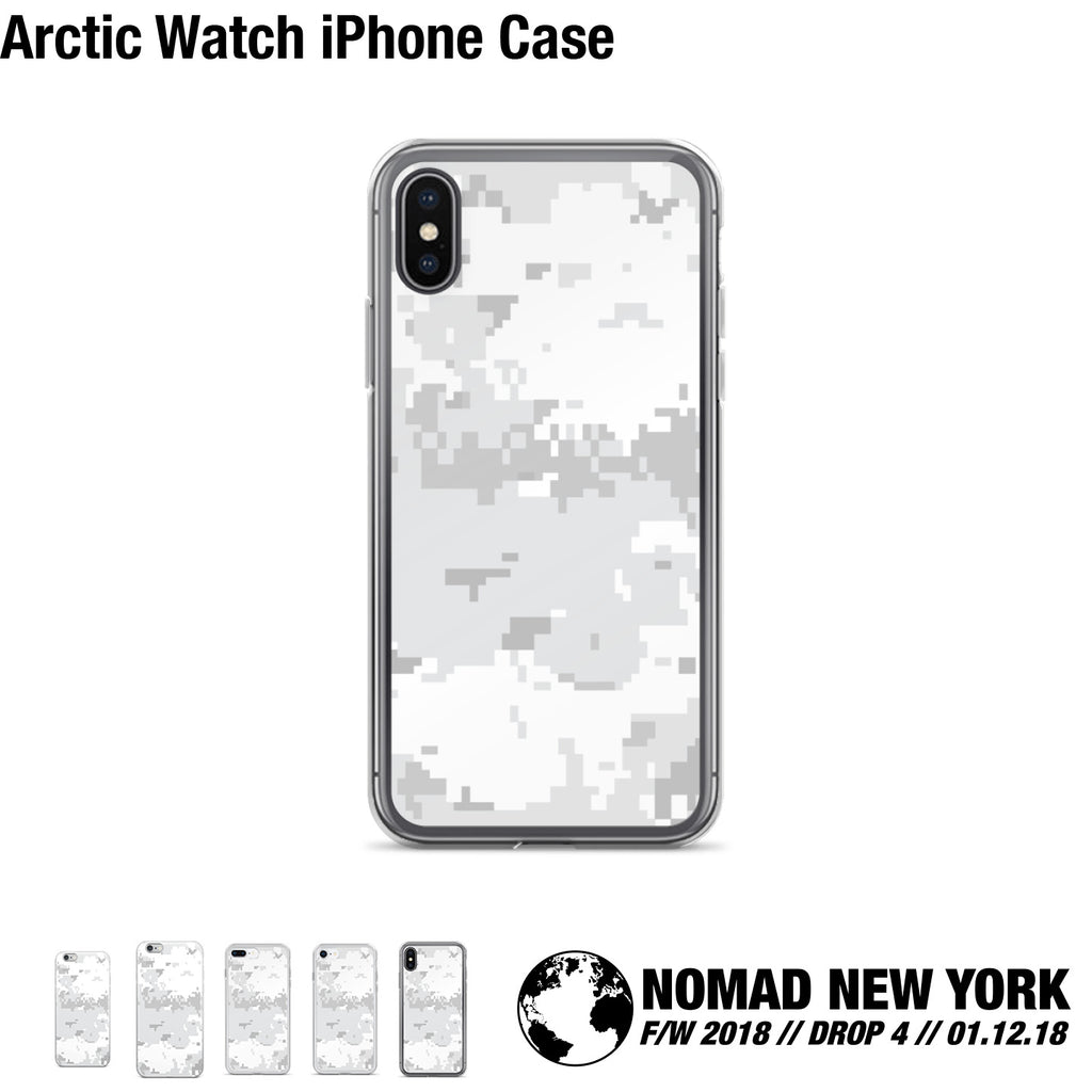 The Arctic Storm iPhone Case from Part 4 of Nomad Fall / Winter 2018