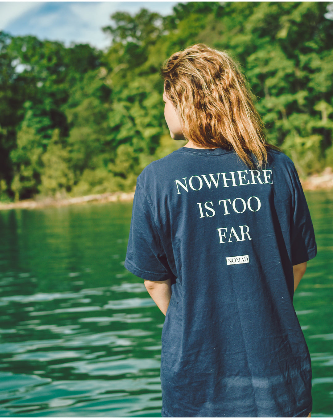 Ethan Hosford for Nomad Creative Works for the Nowhere Is Too Far Campaign, shot at the Cumberland Gap