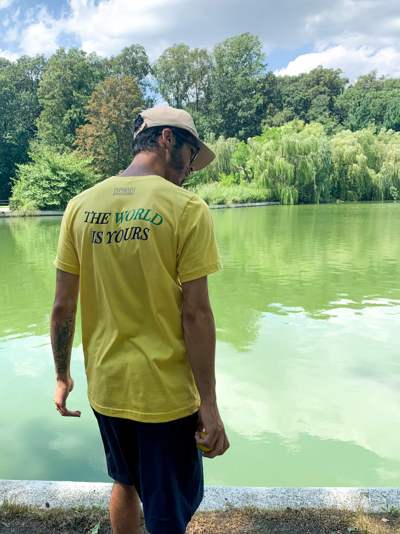 The World Is Yours Lemon Shirt
