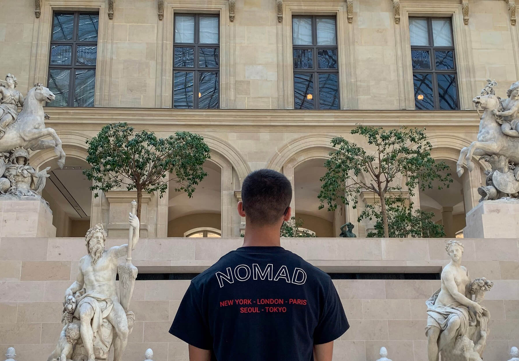 Nomad Creative Works at the Louvre