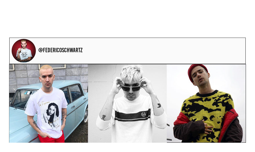 Federico Schwartz's Instagram Page. Travel and Streetwear blog by Nomad New York.