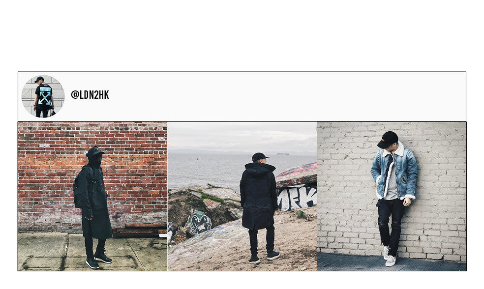 LDN2HK's instagram page. Travel and streetwear blog by Nomad New York.