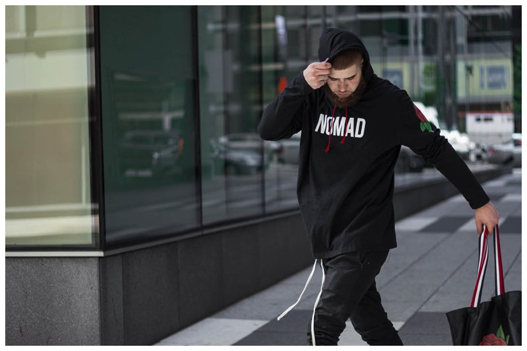 Nicholas Case opens up about streetwear and blogging. Travel and streetwear blog by Nomad New York.