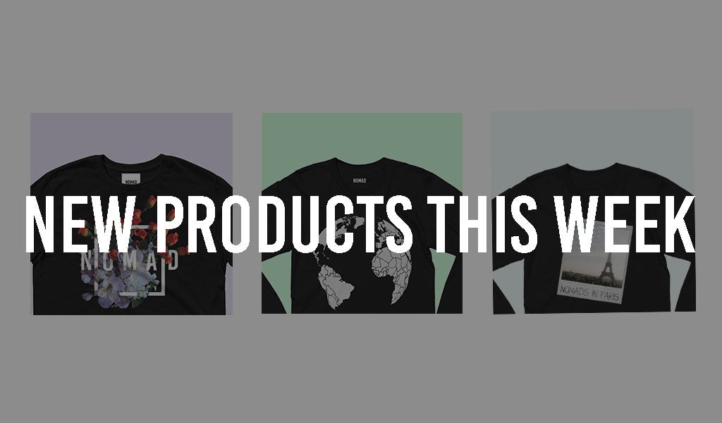 New Products This Week (April 2 2017). Travel and Streetwear blog by Nomad New York.