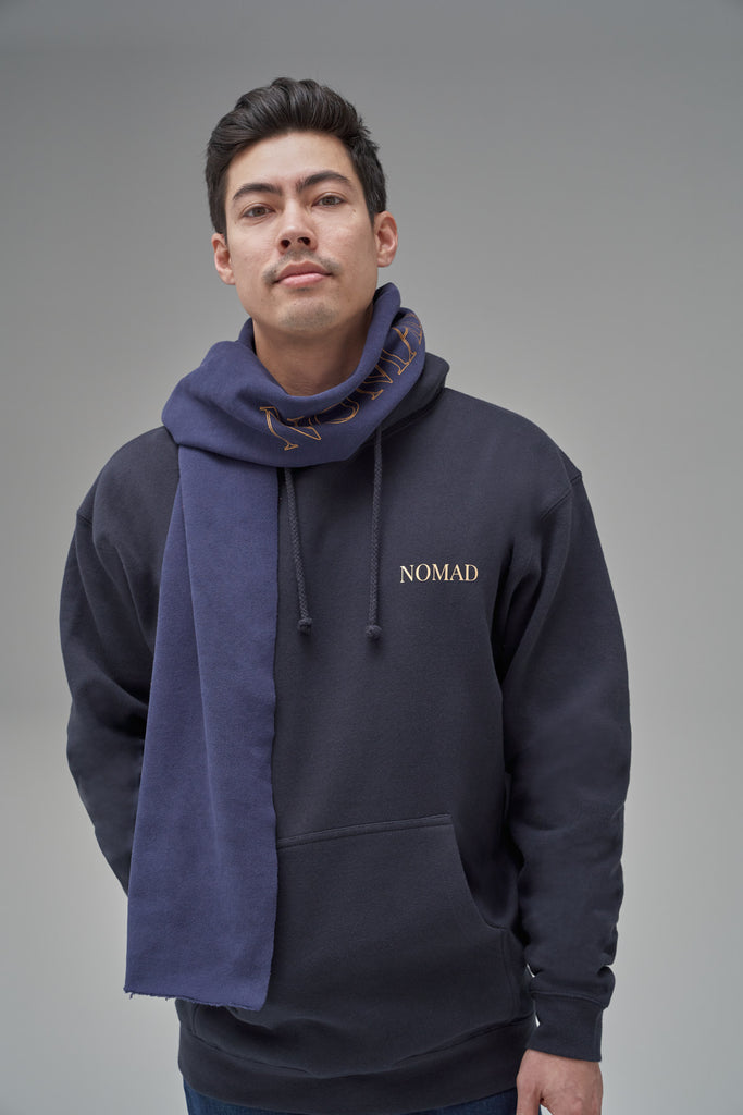 Nomad Fall 2020 Look 1 Fjord Hoodie in Navy