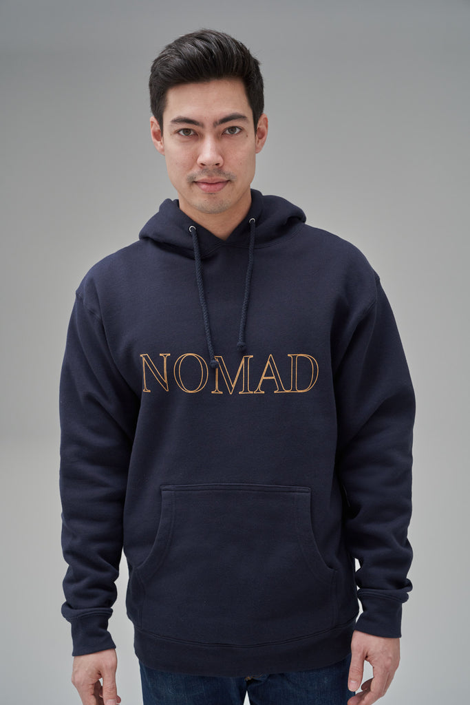 Nomad Fall 2020 Look 2 International Hoodie in Navy