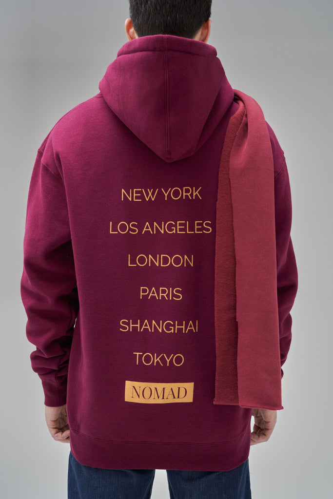 Nomad Fall 2020 Look 3 International Hoodie in Navy