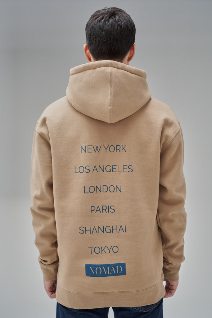 Nomad Fall 2020 Look 4 International Hoodie in Sand