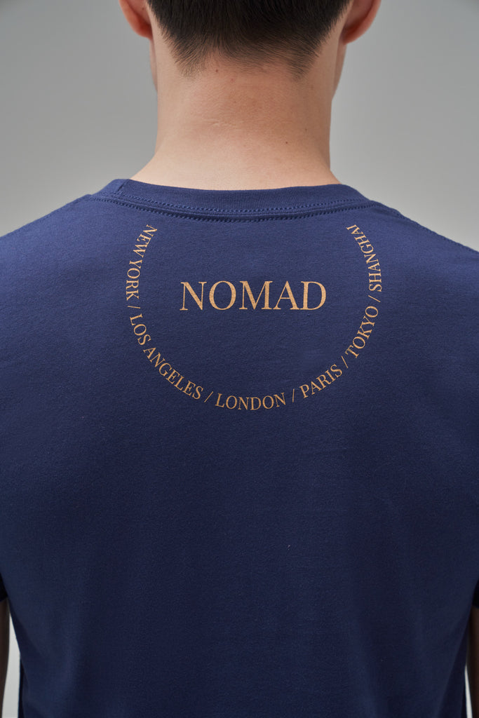 Nomad Fall 2020 Look 6 International T-Shirt in Navy