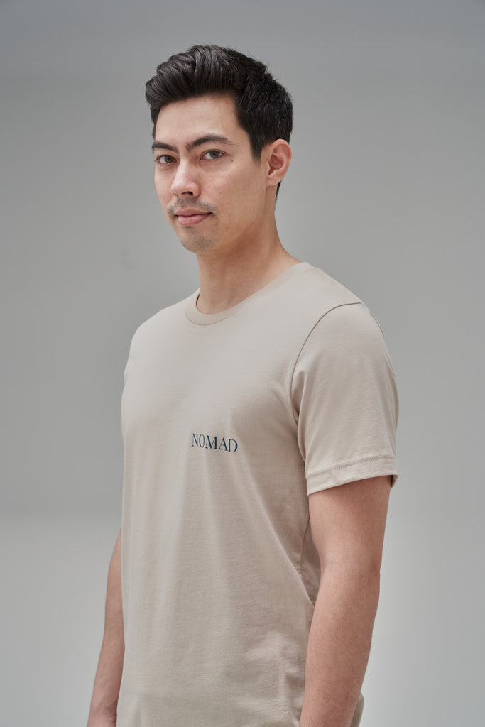 Nomad Fall 2020 Look 5 International T-Shirt in Sand