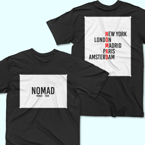 New Patch Print Tee by Nomad New York.