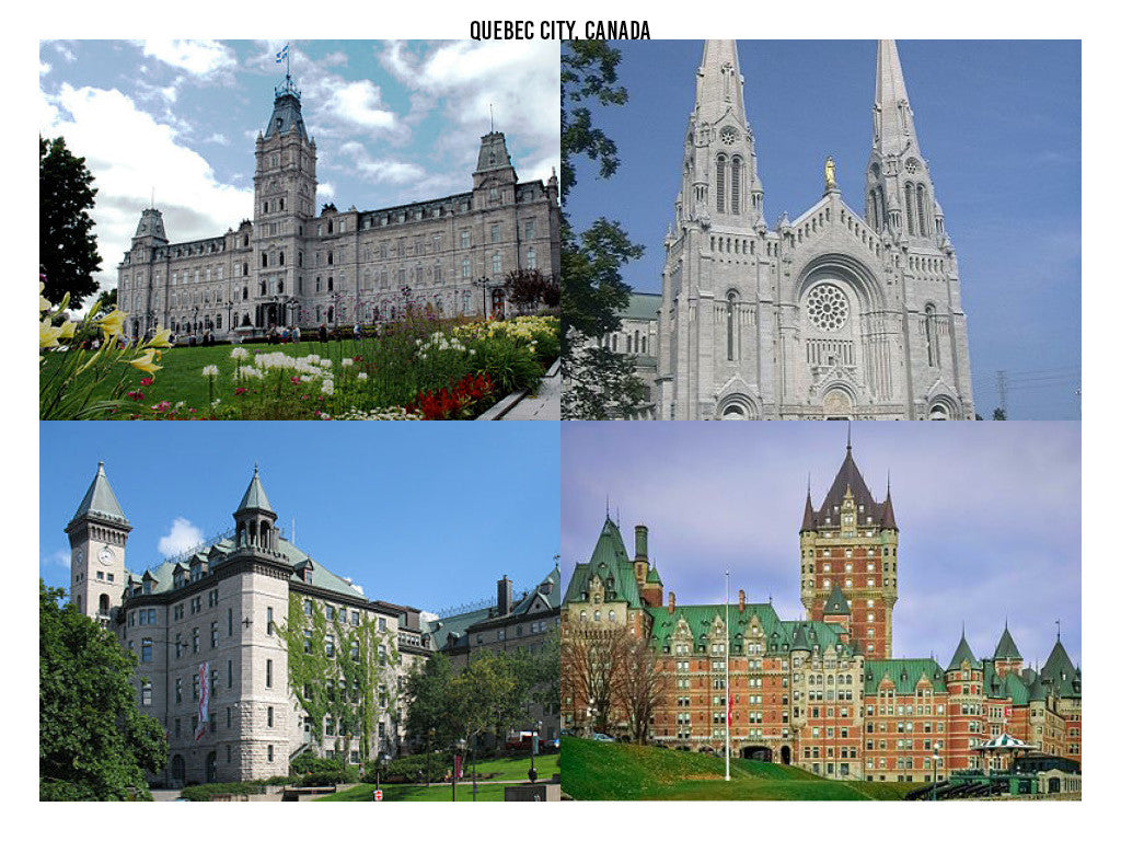 Quebec City, Canada. 6 Cities You Need to Visit in 2017. Travel and Streetwear Blog by Nomad New York.