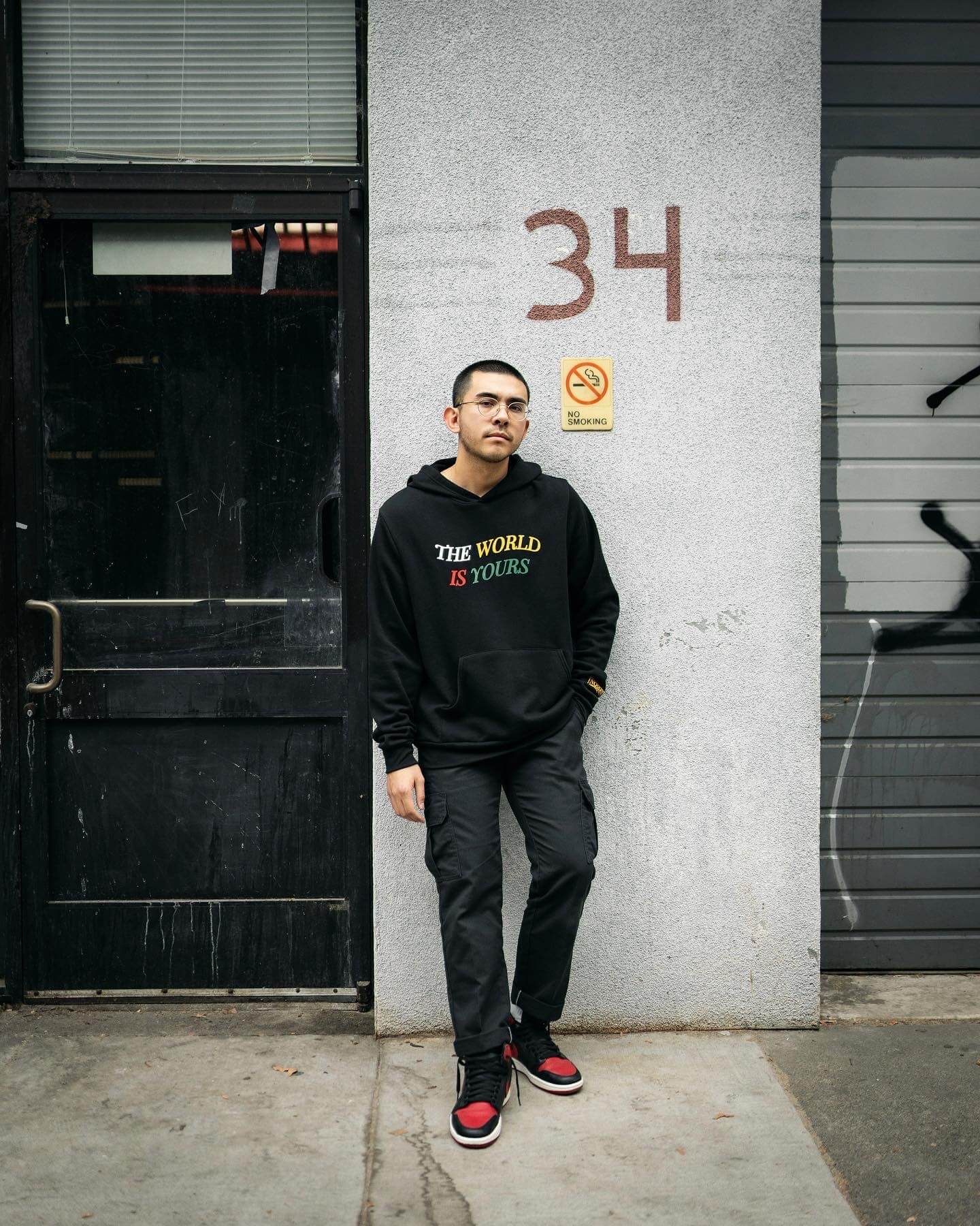 Retro Mike x The World Is Yours Hoodie in San Francisco, CA