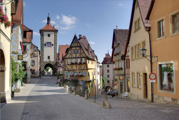 Rothenburg, Germany. Venice, Italy. 11 Cities Frozen in Time You Need to Visit. Travel and Streetwear blog by Nomad New York.