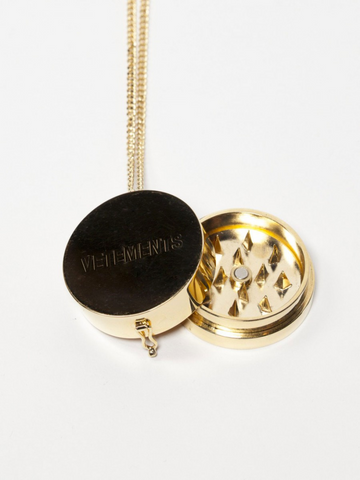 Vetements Weed Grinder Necklace Highsnobiety