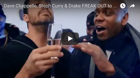David Blaine Drake Dave Chapelle Stephen Curry Magic Trick