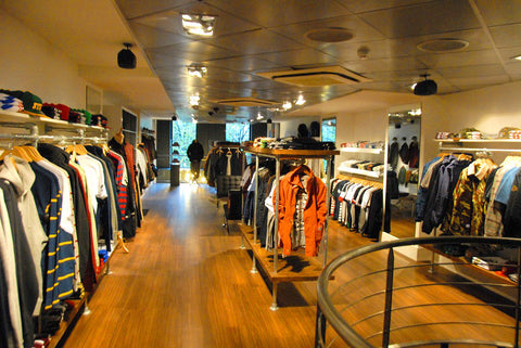 Size? Store Paris. Ultimate Paris Streetwear Shopping Guide. Travel and Fashion blog by Nomad New York.