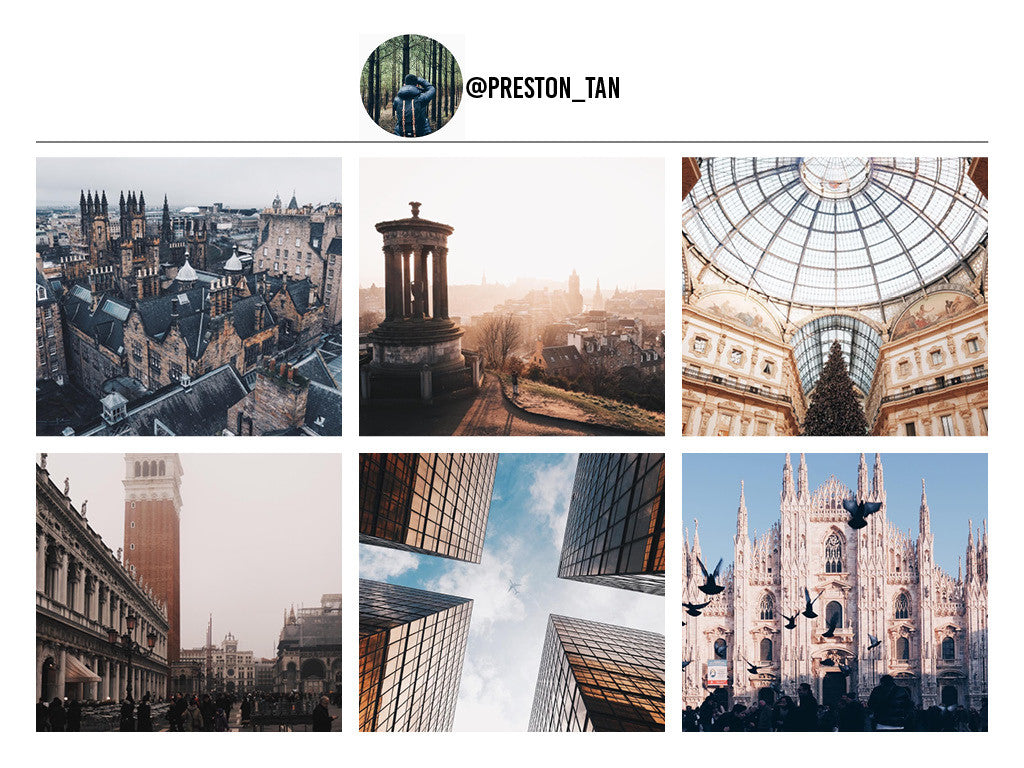 Preston Tan's Instagram Page. 12 Travel Bloggers That Will Make You Want To Pack Everything And Go. Travel and Streetwear Blog by Nomad New York.