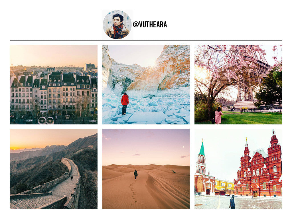 VuTheara's Instagram Page. 12 Travel Bloggers That Will Make You Want To Pack Everything And Go. Travel and Streetwear Blog by Nomad New York.