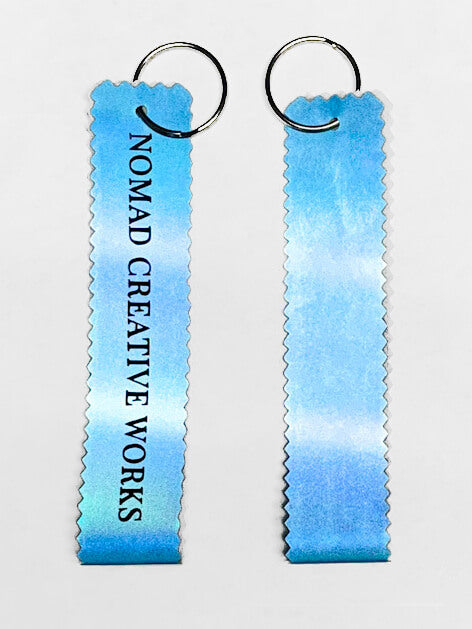 Reflective 3M Keychain - Electric Blue